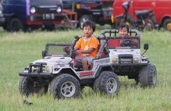 Elektrisches Spielzeugauto Lizenzfreie Stockfotos