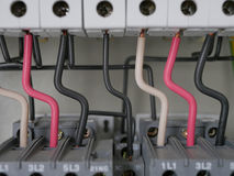 Elektrisches Stromversorgungsgremium Stockfotografie