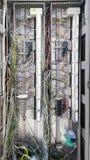 Elektrisches Teil und Zubehör im Schaltschrank, in der Steuerung und im Verteiler lizenzfreie stockfotografie