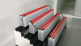 Elektrisches Teil und Zubehör im Schaltschrank, in der Steuerung und im Verteiler stockbild