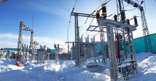 elektrisk avdelningskontor Arkivbild