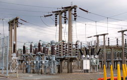 elektrisk avdelningskontor Royaltyfria Foton