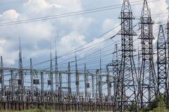 elektrisk avdelningskontor Arkivbilder