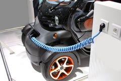 elektrisk bil Arkivfoto