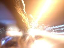 Elektrisk chock royaltyfri foto