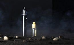 Elektrisk cigarett Fotografering för Bildbyråer