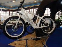 Elektrisk cykel Royaltyfri Fotografi