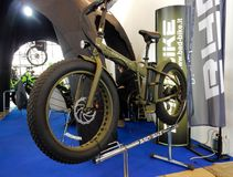 Elektrisk cykel Royaltyfria Bilder