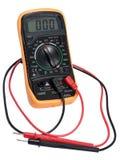 Elektrisk digital tester. Royaltyfria Bilder