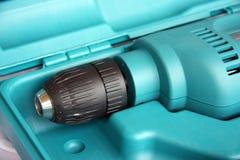 elektrisk drill Royaltyfri Foto