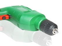 Elektrisk drillborr Fotografering för Bildbyråer
