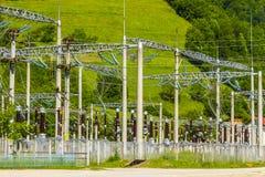 elektrisk energi Arkivbilder