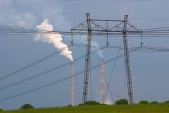 elektrisk energi Arkivbild