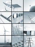 elektrisk energi fotografering för bildbyråer