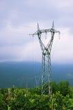 Elektrisk energi och miljö Royaltyfri Fotografi