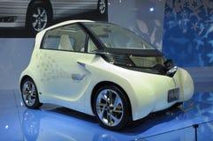 elektrisk evii ft toyota för bilbegrepp Arkivfoto