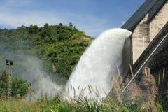 Elektrisk fördämning för Hydro Royaltyfria Bilder