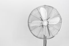 Elektrisk fan för metall Arkivbild