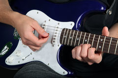 elektrisk gitarr Arkivbilder