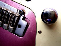 Elektrisk gitarr   Royaltyfri Bild