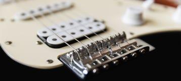 elektrisk gitarr Royaltyfria Foton