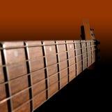 elektrisk gitarrhals Arkivfoto