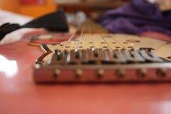 elektrisk gitarrinstrumentmusikal arkivfoton