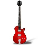 elektrisk gitarrrock Arkivfoton
