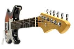 elektrisk gitarrrock Arkivfoto