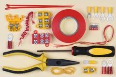 Elektrisk hjälpmedel och del Fotografering för Bildbyråer