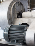 elektrisk industriell motor Royaltyfria Foton