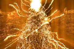 elektrisk jul Arkivbild