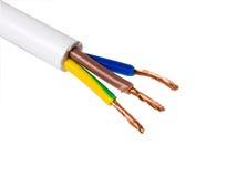 elektrisk kabel arkivbild