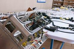 elektrisk kabel Arkivfoto
