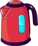 elektrisk kettle vektor illustrationer