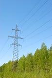elektrisk kraftledning Royaltyfria Bilder