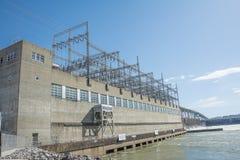 Elektrisk kraftstation Fotografering för Bildbyråer