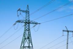 elektrisk kyiv lines ström ukraine Royaltyfria Bilder
