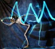 elektrisk lady Royaltyfria Foton
