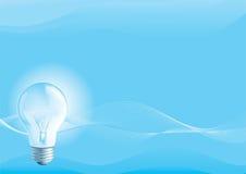 Elektrisk lightbulb Arkivbilder