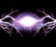 elektrisk lighting Arkivfoton