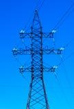 elektrisk linje strömwhite för svart begrepp arkivbilder