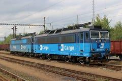 elektrisk lokomotiv Arkivbilder