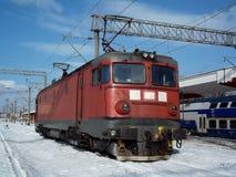 Elektrisk lokomotiv arkivbild