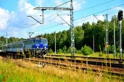 Elektrisk lokomotiv Royaltyfri Fotografi
