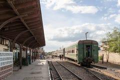 Elektrisk lokomotiv Fotografering för Bildbyråer