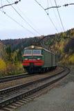 Elektrisk lokomotiv VL11 i rörelse Royaltyfri Bild
