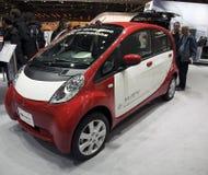 elektrisk miev mitsubishi för bil royaltyfria foton