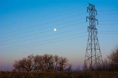 Elektrisk morgon Fotografering för Bildbyråer
