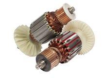 elektrisk motor Fotografering för Bildbyråer